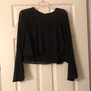 Ina bell sleeve blouse
